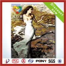 2014 la venta caliente reproducción de la pintura de aceite de China sobre lienzos