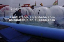 2012 Hot Sale !!! newly inflatable rolling ball for kids