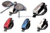 Car Sunglasses/Glasses/Ticket/Card Holder Clip - Fits to Sun Visor auto glasses clip