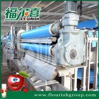 Industiral apple juice belt press extracting machine