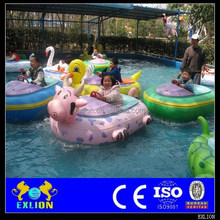 Loved by children mini electric water bumper boat