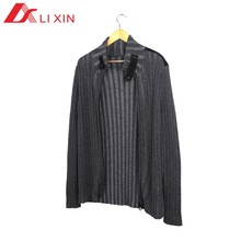 baratos padrão de camisola casaco de lã para homem