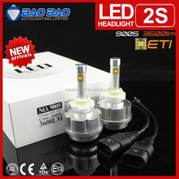 Hot waterproof LED moto headlight, led headlight for CAR, h4 h13 h11 h7 led headlight 3600lm 30w BAOBAO Lighting