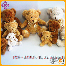 stuffed toy teddy bear with sublimation t-shirt clothes