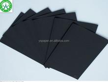 350gsm black paper,black cardpaper,black cardboard/Virgin Carbon Black Paper