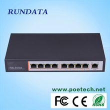 Superior quality competitive price 8 Port PoE switch for IP camera/VoIP phone/Access Point