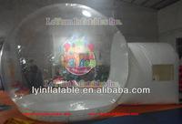 Best quality snow globe/christmas inflatable snow globe wholesale
