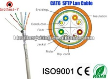utp stp ftp sftp cat6 cables cat6 UTP/FTP 4PAIRS*2*0.57MM BARE COPPER/CCA /CCAM