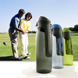 2015 hot sale sport water bottle/Pe water bottle/bike sports water bottle carrier