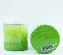 custom print clear pvc plastic cylinder gift box