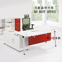 modern design executive desk,executive office desk make in China,simple design executive wooden office desk