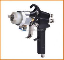 Ningbo popular sales 2015 tornador single head double nozzle gun non toxic spray paint for metal