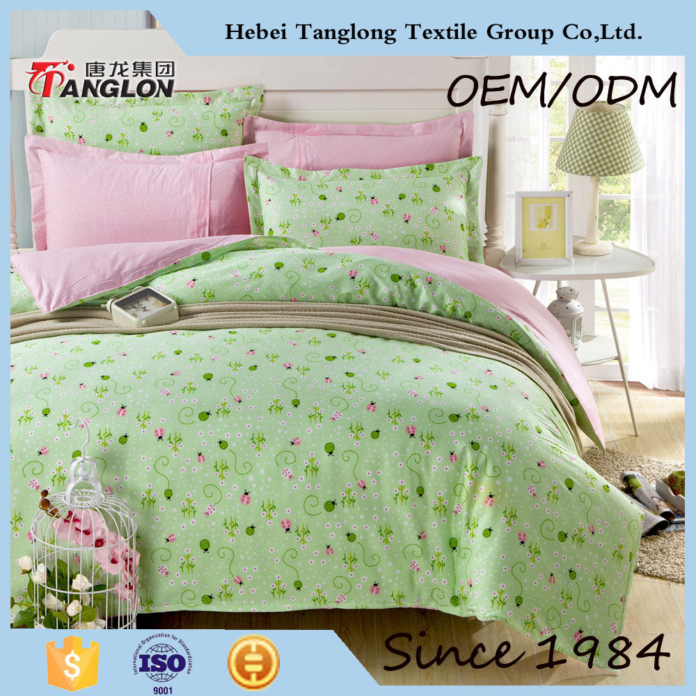 best selling wholesale bed sheet set good quality textile fabric bed
