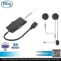 motorcycle intercom bluetooth helmet kits/intercom motorcycle