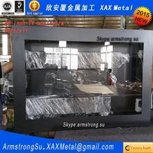 XAX173TVE outdoor out door IP66 IP67 ceiling mount multifunction interactive kiosk advertising cabinet housing