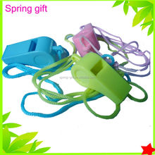 promotion plastic whistle/ metal whistles / custom whistle keychain