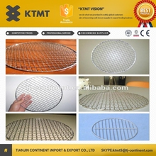 stainless steel barbecue mesh/toaster grill mesh/outdoor cooking bbq mesh,BBQ grill