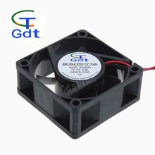 "DC 60mm * 25mm 6025 2Pin 2.36"" 6cm 5V 12V 24V CPU Radiator Computer Cooling Fan"