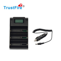 new products 2013 innovative charger Trustfire TR-008 Three slots mobile phone usb charger