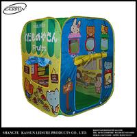 Profession manufacturer custom design competitive price animal kids pop up play tent