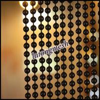 Hanging door beads curtain,decorative metal beads curtains