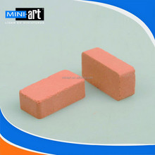 white brick model for DIY interior architectural model-making materials sand table 20 pcs/lot