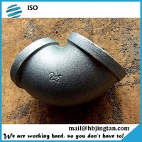 60 degree 3 way elbow pipe fittings galvanized