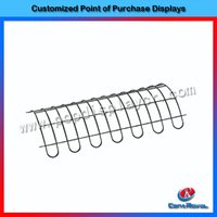 High quality metal display rack accessories with OEM design