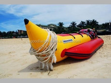 PVC Inflatable Water Banana Boat Easily And funny rowing In The Water , Durable