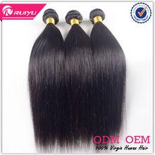 Long straight hair 22 inch virgin remy brazilian hair weft