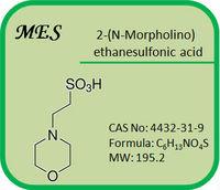 CAS No: 4432-31-9 MES Buffer 2-(N-Morpholino)ethanesulfonic acid