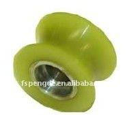 polyurethane coated v shape roller