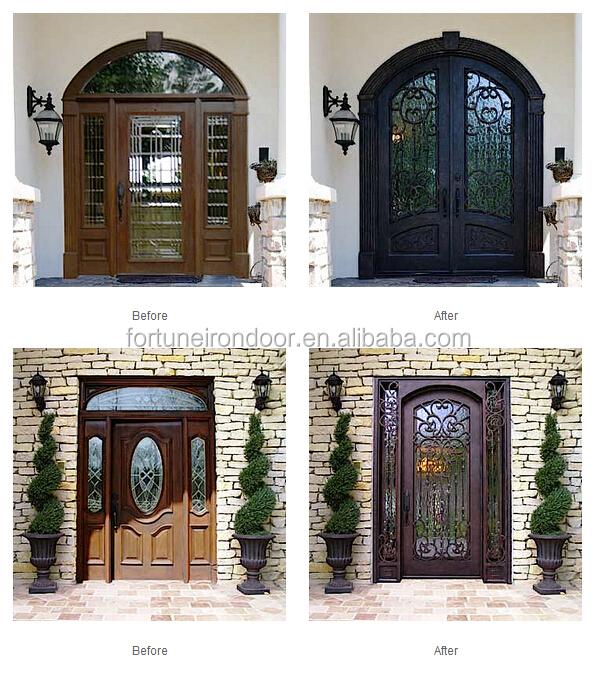 Porte in ferro e vetro great realizzati con profilo di alluminio o ferro in diverse tipologie e - Vetri blindati per finestre prezzi ...