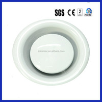 adjustable stainless steel air conditioning ceiling diffuser/circular outlet