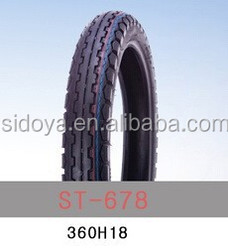 360H18 tl cheap motorcycle tire made in China