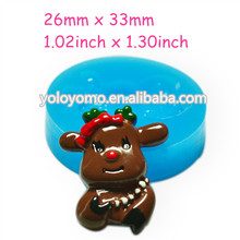 DYL157 Sheep Silicone Moulds Cake 33mm - Chocolate Bakeware Air Dry Polymer Clay Mould, Charms Mold Bakery Mould Food Safe