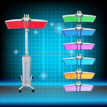 Rechargeable at home handheld beauty equipment led machine for skin rejuvenation