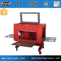 China hot sale cylinder materials with rotary 3d machine cnc laser engraving machine MC 6040