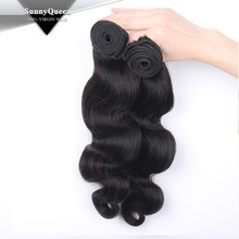 Sunny Queen Hair 100% unprocessed mongolian hair weft, mongolian hair quad weft hair extension, cyber mongday hair extension