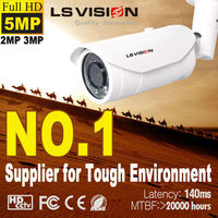 LS VISION Shaking Alarm Auto Focus and Zoom onvif hd 5 megapixel outdoor ip camera