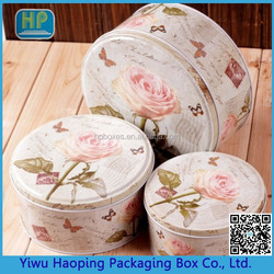 Wholesale leaves pattern boxes mental tinplate container gift container