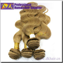 100% Remy Virgin Blonde Human Hair Top Quality Human Yellow Hair Extensions