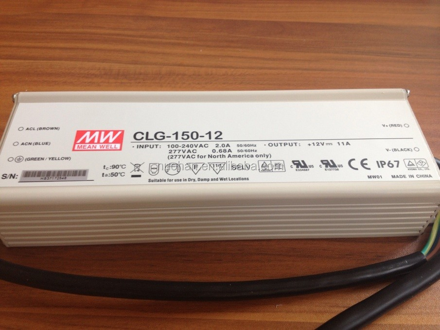 Meanwell 150W 12v Single Output LED Power Supply/12v led driver/150w led driver