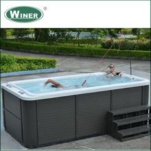 2 People Luxury acrylic bathtub hot whirlpool Outdoor massage swimming spa