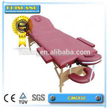 therapy solid wooden massage table