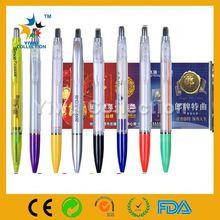 cheap plastic promotional pen,ballpiont pen,national flag ball pen