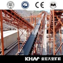 Khm transportador de correa para mineral, piedra y otros materiales transporte | transporte equipos | máquina de explotación minera