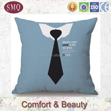 OEM customize printed plain cotton throw pillow cover