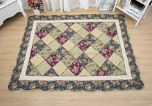 2015 hot selling Luxury 100% cotton custom floor mat