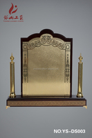 High quality wholesale wood plaque blank/trophies custom wood award stand